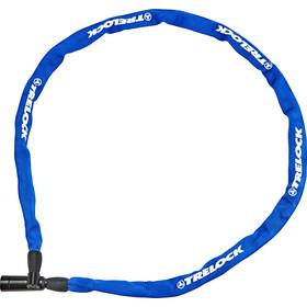 Trelock BC 115 Łańcuch rowerowy z zamkiem, czarny/niebieski